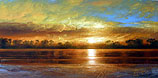 Arthur Braginsky - Landscape 40x80, oil on canvas, 2005